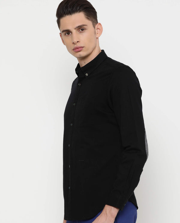 Drive-3-Solid Shirt-Black