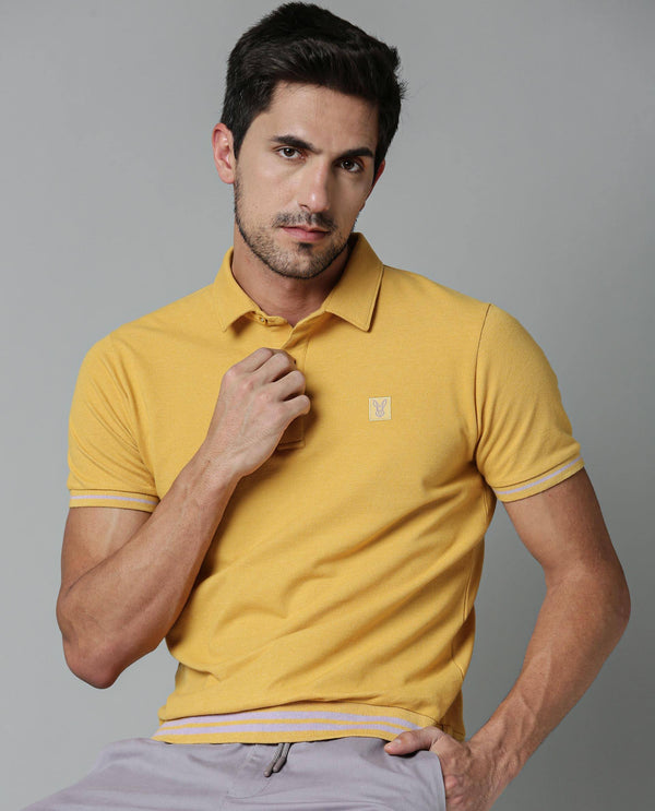 MATCH-MUSTARD POLO RARE RABBIT