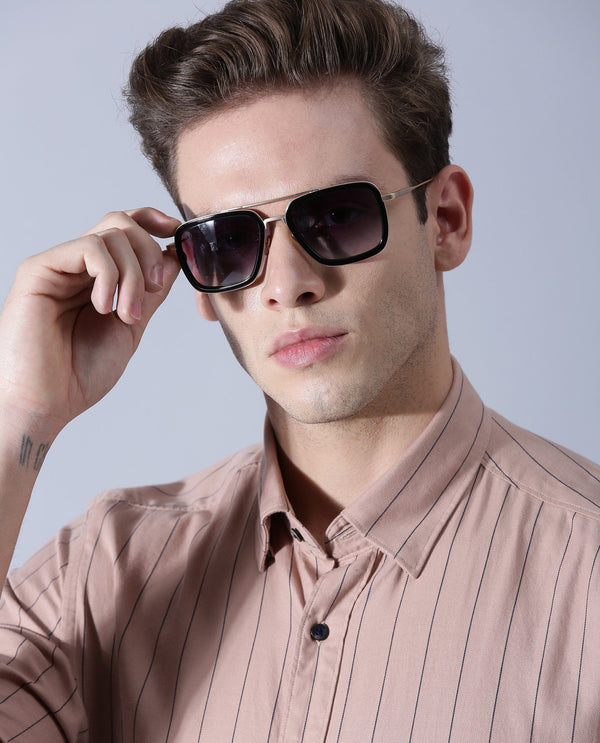 VINTAGE SQUARE-SUNGLASS-NA ACCESSORIES GARRETT LEIGHT