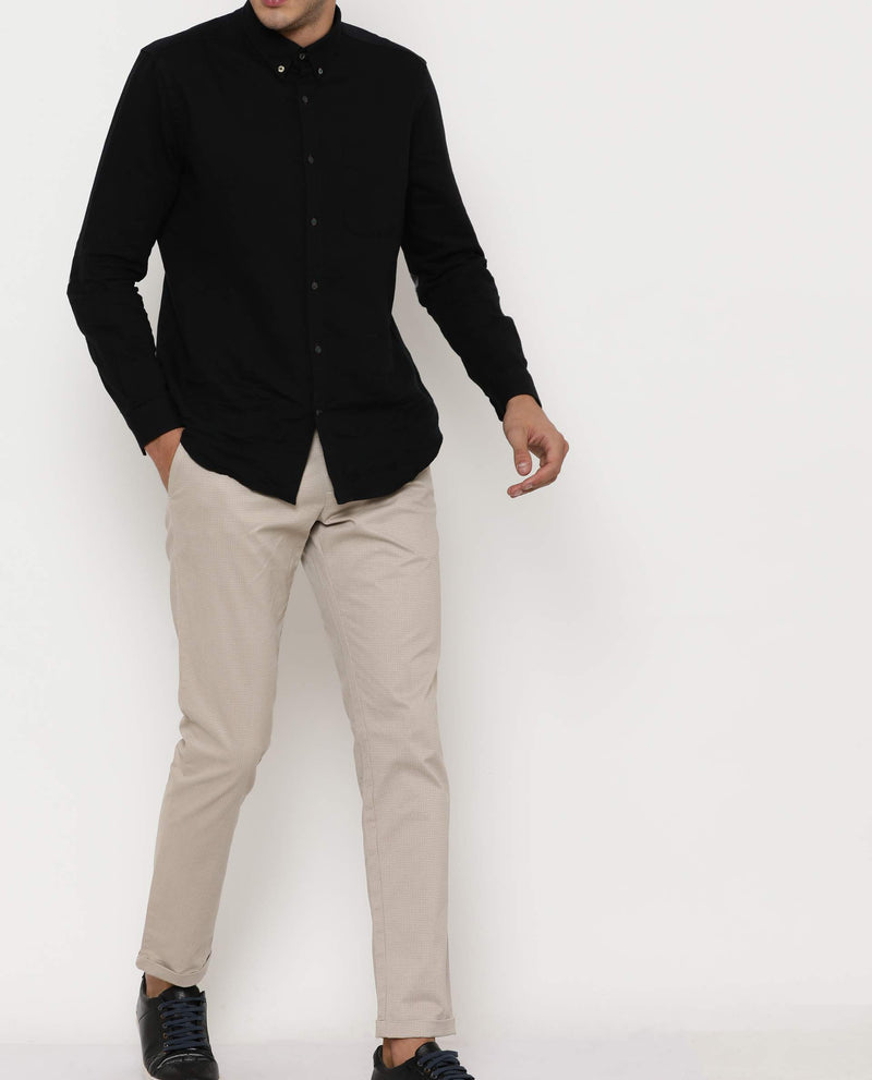 Alters-Regular Trouser-Beige