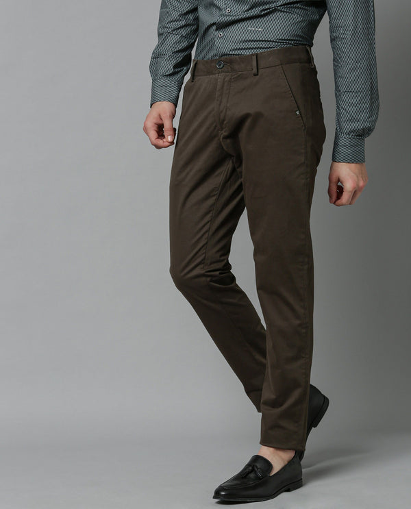 SACERO-2-SLIM FIT Trouser/CHINO-OLIVE TROUSERS RARE RABBIT