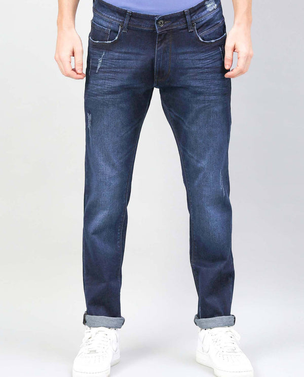 ANTONY- DENIM PANTS- BLUE DENIM PANT RARE RABBIT