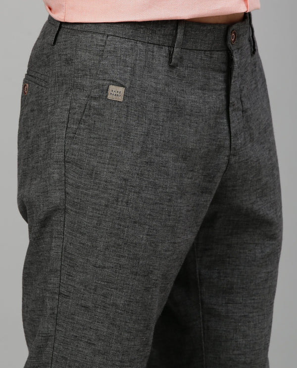 LINCON-TROUSER-DARK GREY TROUSERS RARE RABBIT