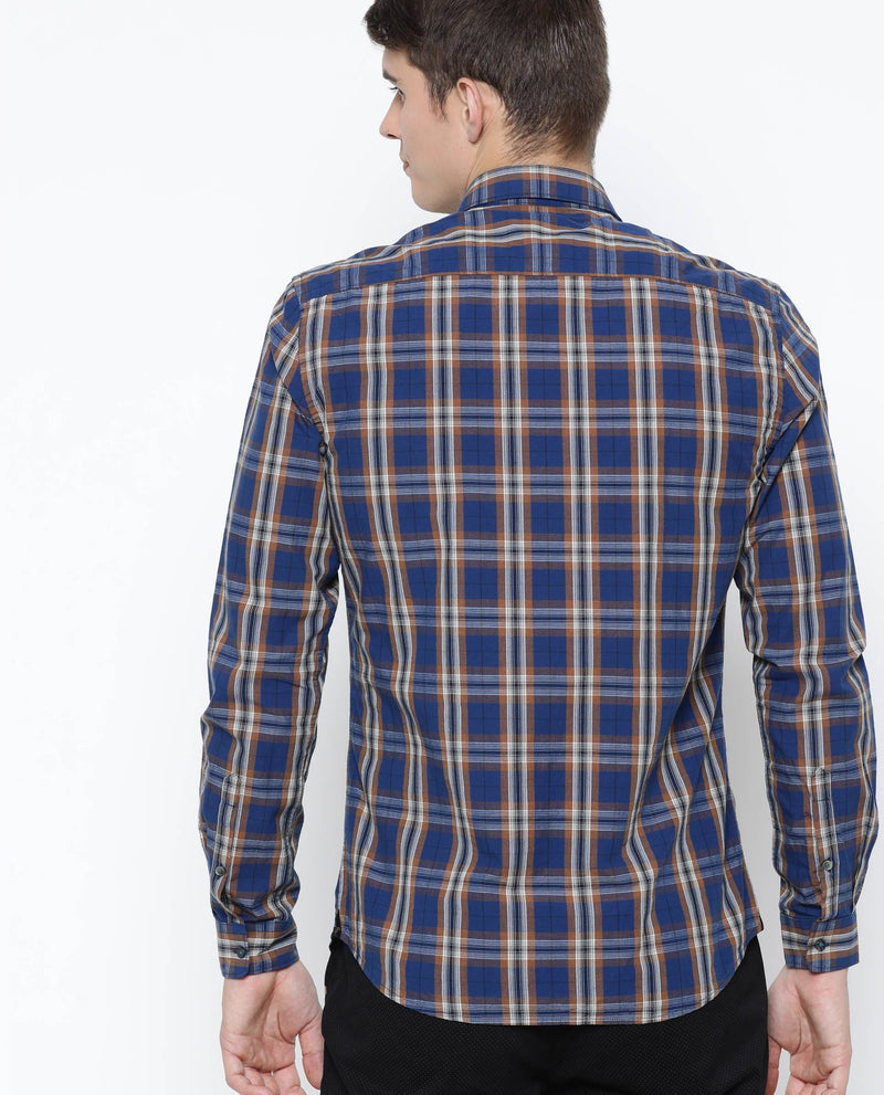 Gradon-Check shirt-Blue