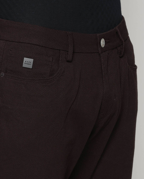 ROLOX-5 Pocket DENIM/PANT-Brown TROUSERS RARE RABBIT