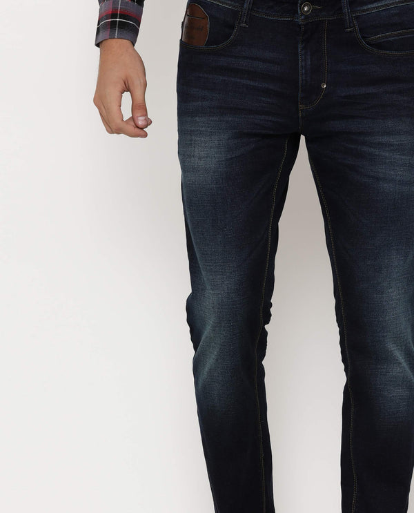 Brewsky-2-Denim Pant-Blue