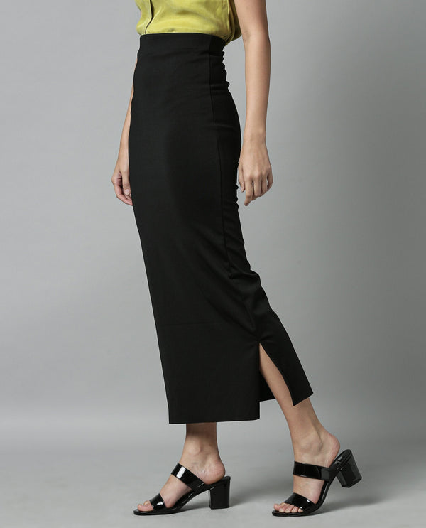 BRISS 1-LONG SKIRT-BLACK SKIRT RAREISM
