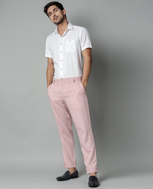 LINCON-2-PINK TROUSERS RARE RABBIT