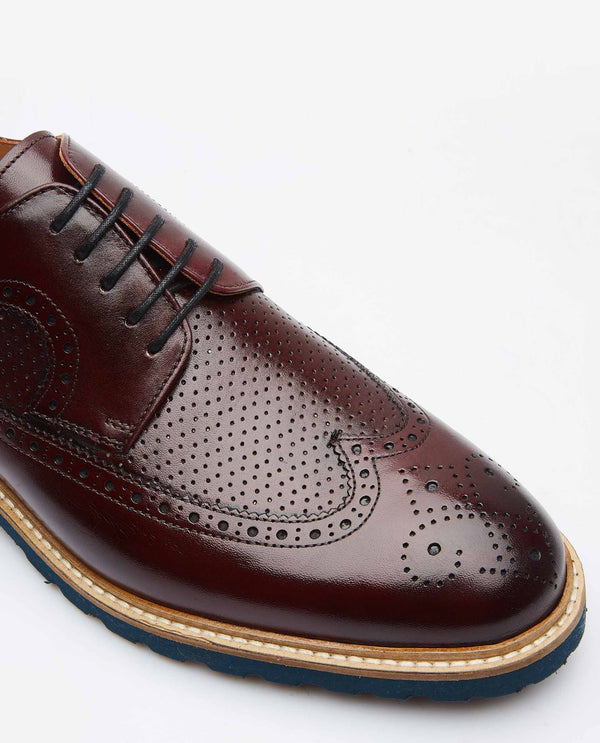 BROGUES-BURGUNDY SHOE RARE RABBIT
