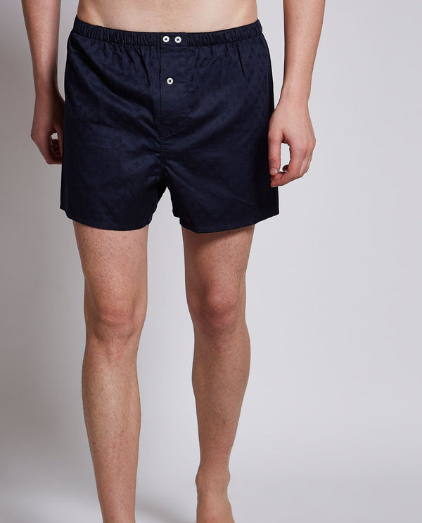 CASKEN-MEN'S BOXER-NAVY BOXER RARE RABBIT