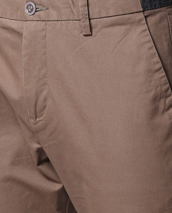 DARO-4-Slim Fit Trouser/Chino-BROWN TROUSERS RARE RABBIT