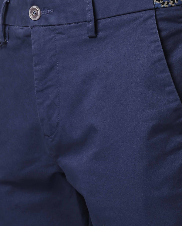 DARO-4-Slim Fit Trouser/Chino-BLUE TROUSERS RARE RABBIT