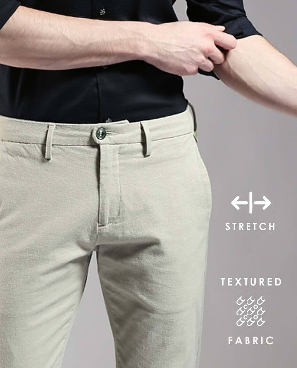 ESTER-2-Stretch trouser - GREEN TROUSERS RARE RABBIT
