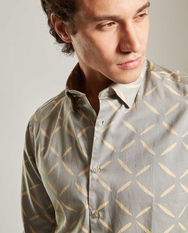FIREFLY-Casual Shirt-BEIGE