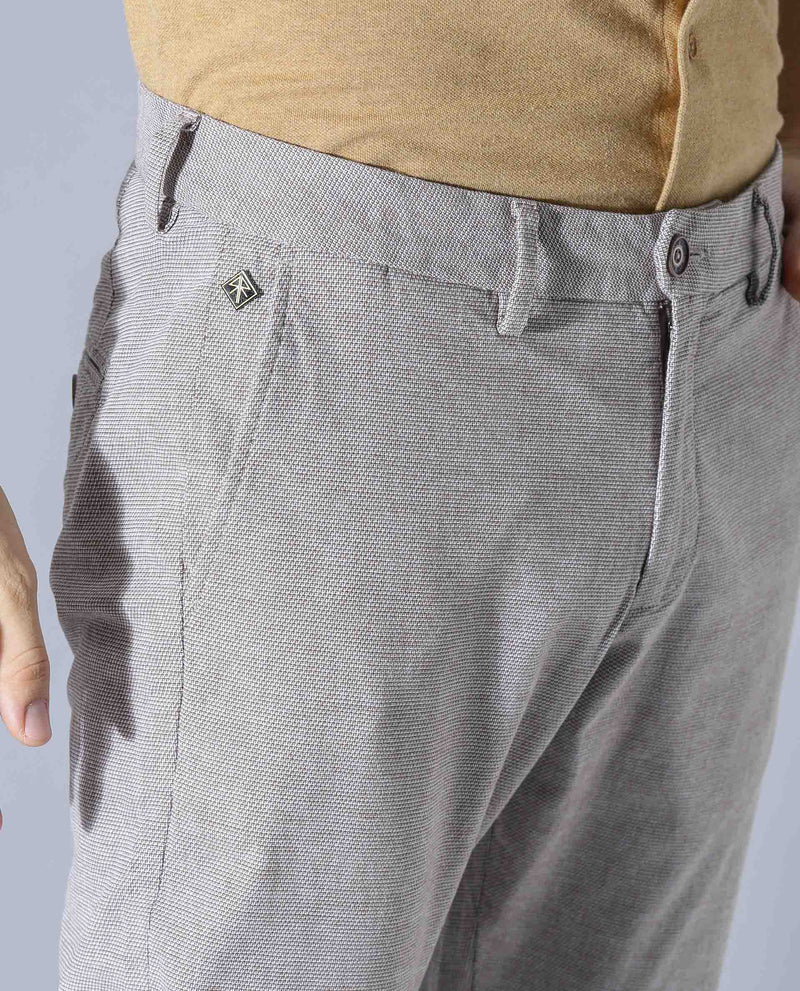Ester-Solid TROUSER/Chino- Beige TROUSERS RARE RABBIT