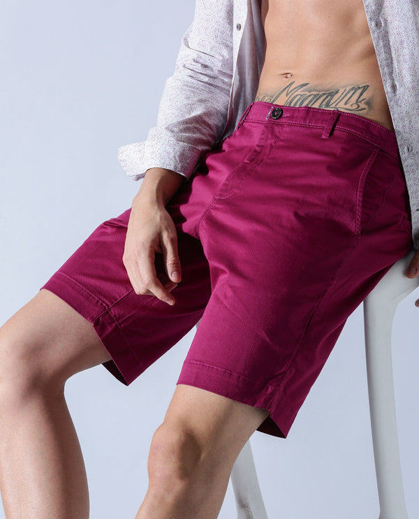 TOPAZ-1- MEN'S SHORTS - PINK SHORTS RARE RABBIT