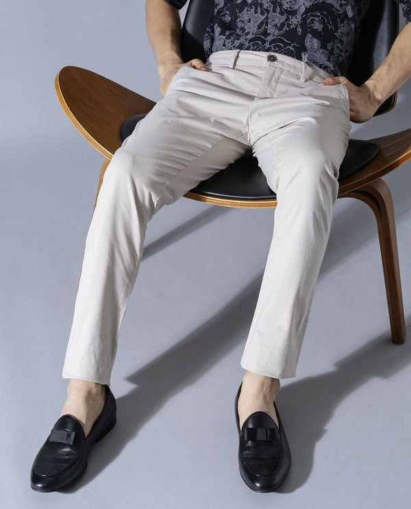 DARO-Regular Fit Trouser/Chino-BEIGE TROUSERS RARE RABBIT