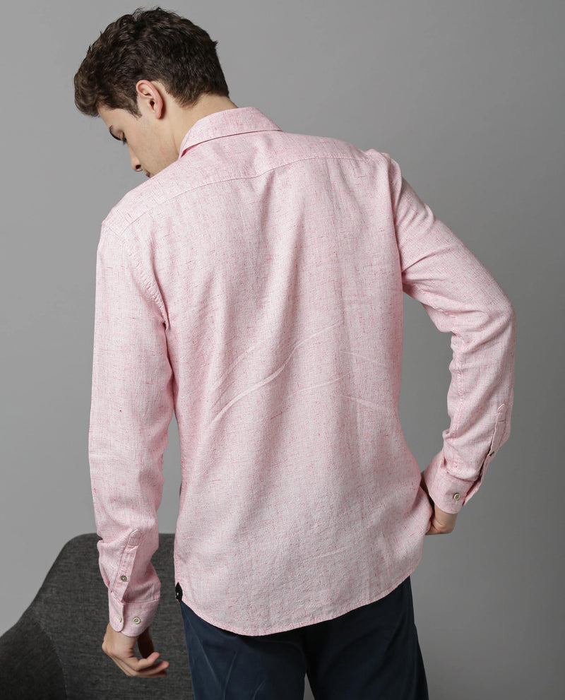 Inject-Formal Shirt-Pink SHIRT RARE RABBIT