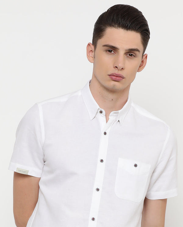 Driven-2-Basic Shirt-White
