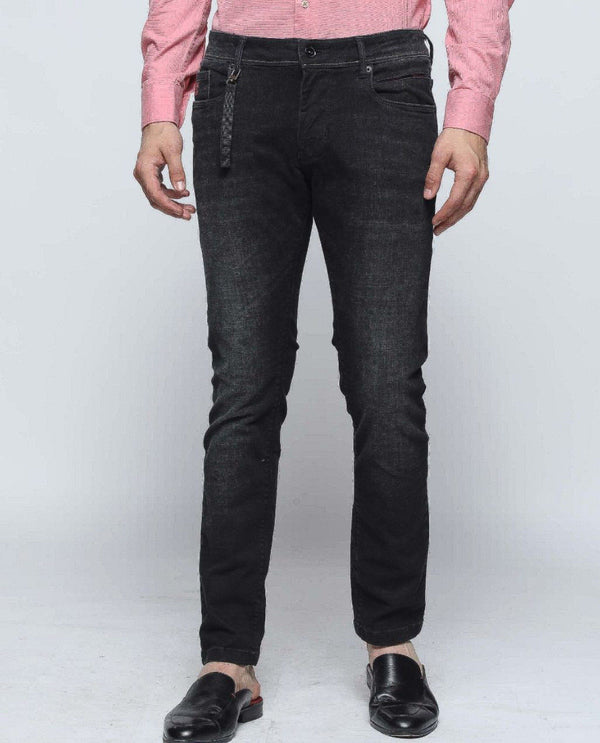 MAMBO-4-Basic Denim-BLACK DENIM PANT RARE RABBIT