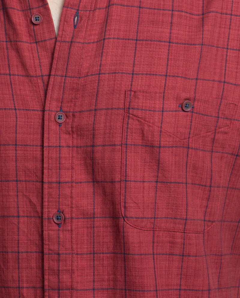 MARVEL-Checked Shirt-RED SHIRT RARE RABBIT