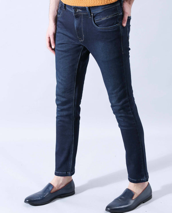 NEAL-CLASSIC BLUE DENIM PANT RARE RABBIT