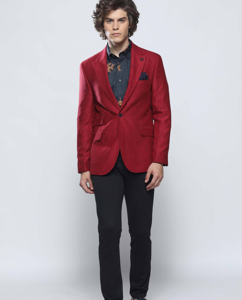 REWIND-RED BLAZER RARE RABBIT