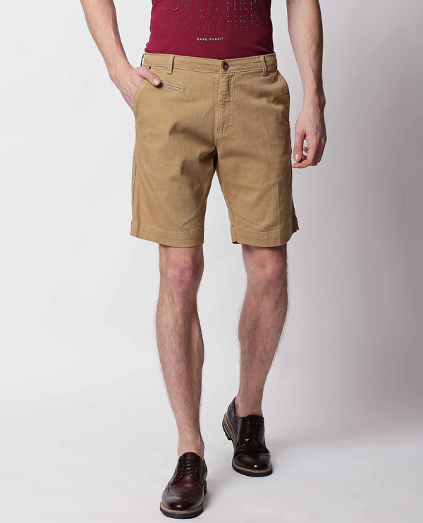 SHADY-1-OLIVE SHORTS RARE RABBIT