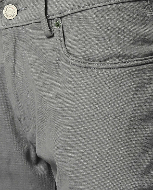 SPOCK-3-5 pocket DENIM/PANT-GREEN TROUSERS RARE RABBIT