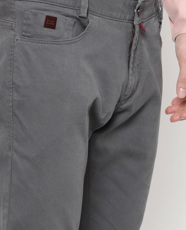 Spock-5 pocket-Grey TROUSERS RARE RABBIT