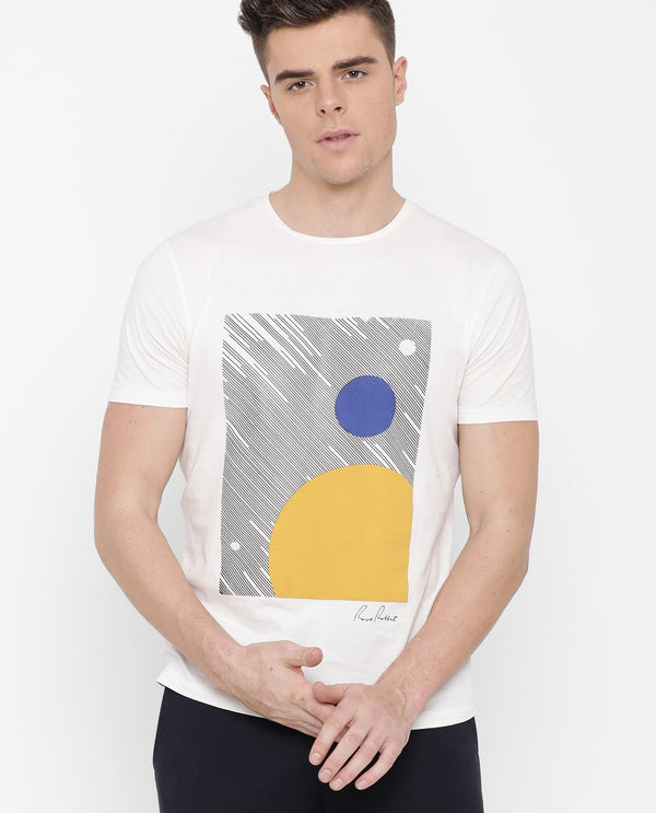 Stride- Graphic t-shirt-White
