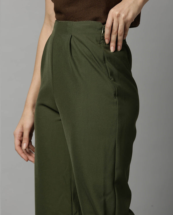 TRAIL-TAPERED TROUSER-GREEN TROUSERS RAREISM