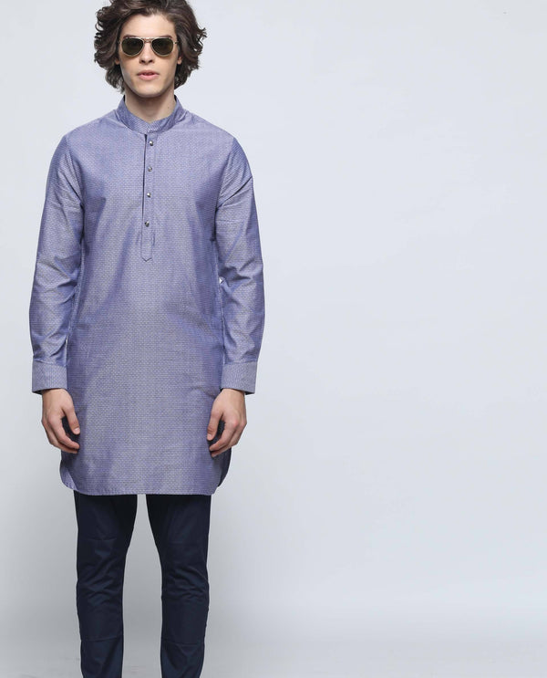 CELEB-PURPLE KURTA RARE RABBIT