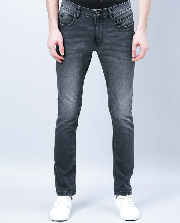 COBINO-DENIM PANTS-BLACK DENIM PANT RARE RABBIT
