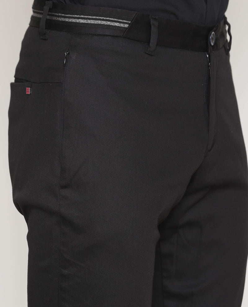 Drip-Solid Trouser-Black