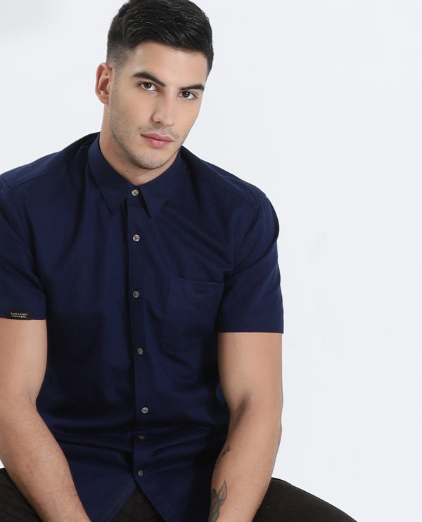 Driven-2-Casual Shirt-Navy