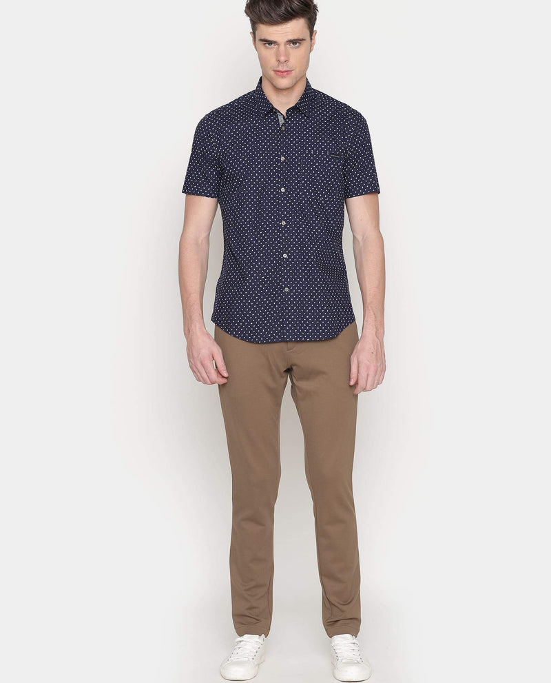 Flowe-Casual Shirt-Navy