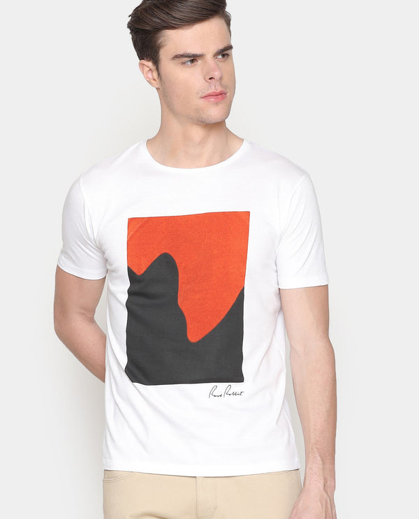 Love Wave-Graphic T-shirt-Off White