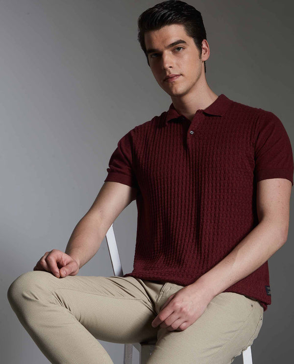 PAST-MAROON POLO RARE RABBIT