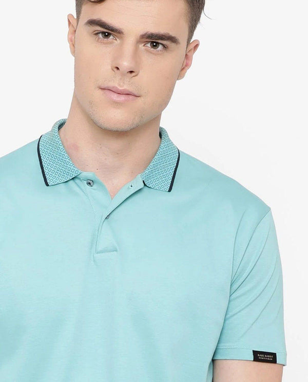 Polar-Polo T-shirt-Blue