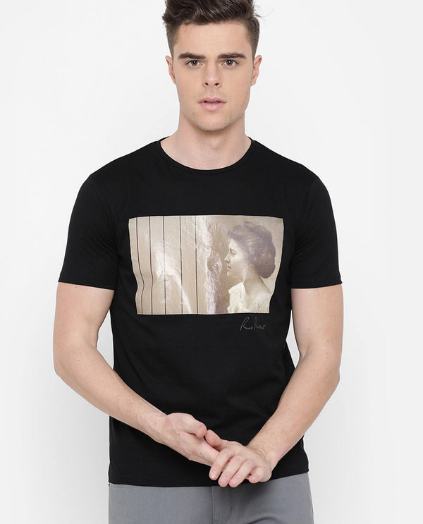 Sculpt-Graphic T-shirt-Black