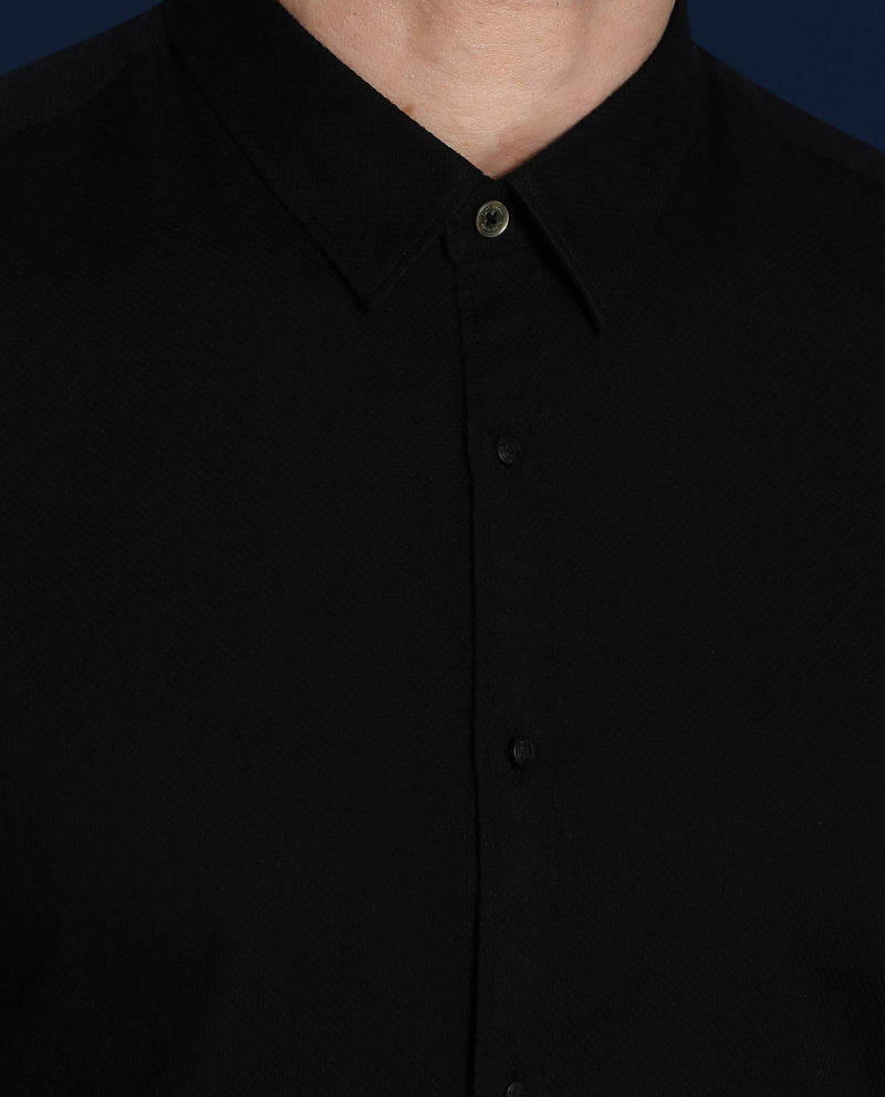 SHOULD-Basic Shirt-BLACK