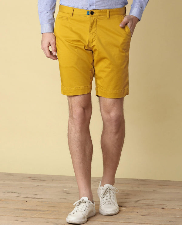 Topaz-Casual Shorts-Yellow