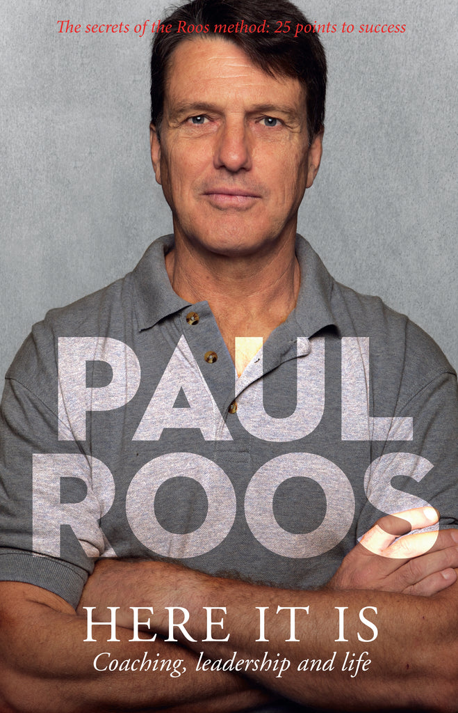 Here it is - Paul Roos