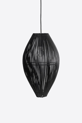 Fish Trap Pendant Light - Black