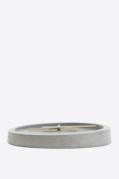Concrete Wall Clock - Grey - Oggetto
