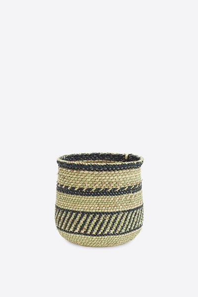 Iringa Basket - Natural and Black - Oggetto