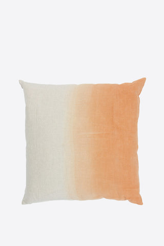 Linen Colour Gradient Cushion - Orange - Oggetto
