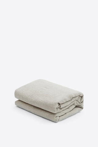 SAMPLE 100% Linen Duvet Cover - Natural - Oggetto