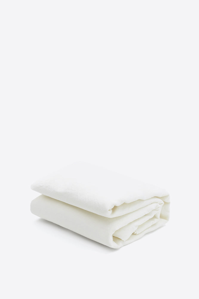 Products SAMPLE 100% Linen Duvet Cover - Soft White - Oggetto